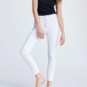 Rag & Bone Nina high rise Button fly skinnies